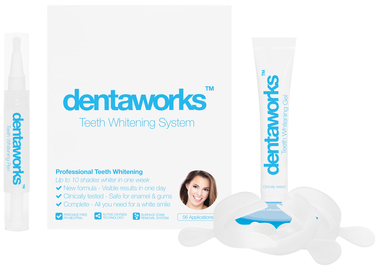 Dentaworks Plus with Teeth Whitening Pen